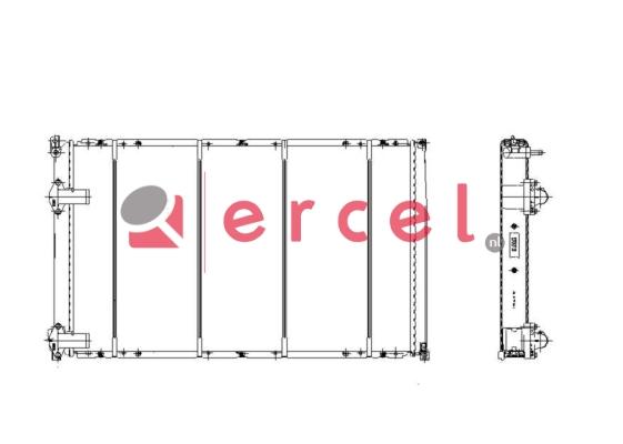 Radiateur RER 170