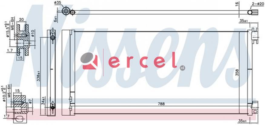 Airco condensor REC 902