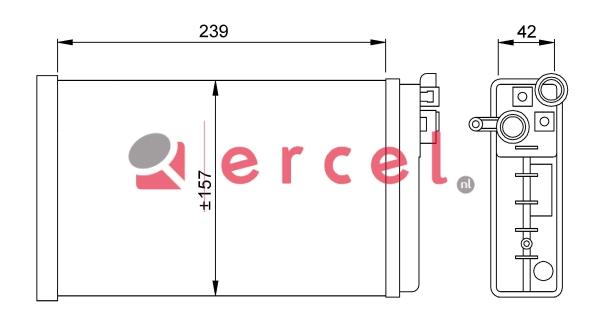 Kachelradiateur OPH 216