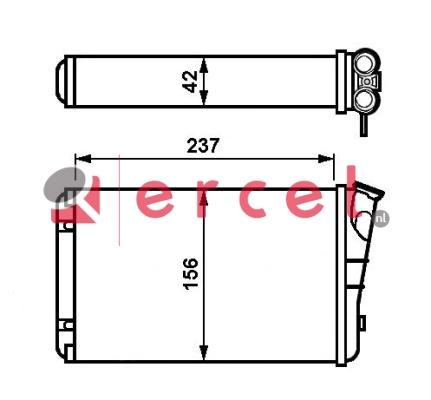 Kachelradiateur OPH 228