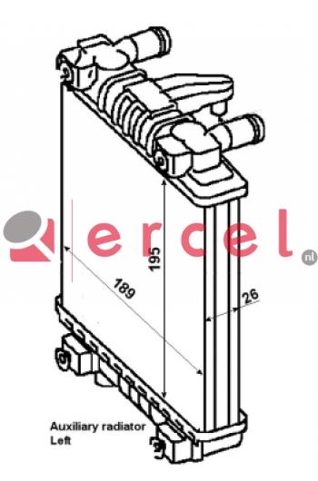 Radiateur AUR 168