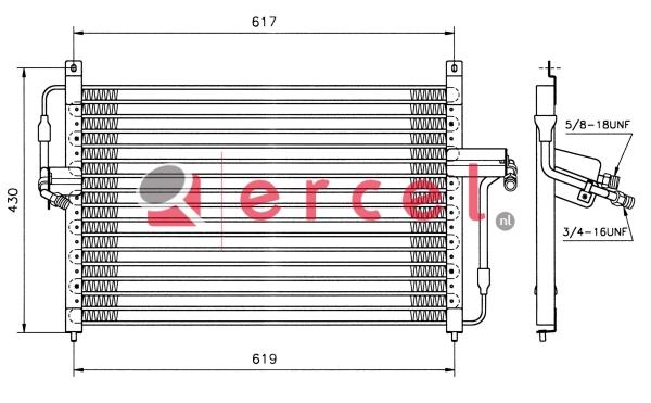 Airco condensor OPC 510