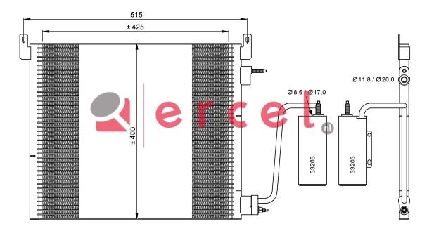 Airco condensor OPC 507