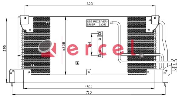 Airco condensor OPC 524