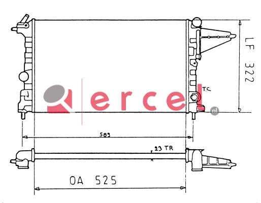 Radiateur OPR 092