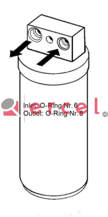 Airco droger/filter OPD 004