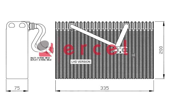 Airco verdamper OPV 005