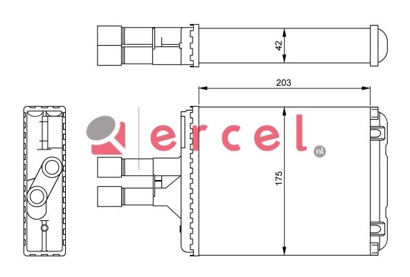Kachelradiateur OPH 240