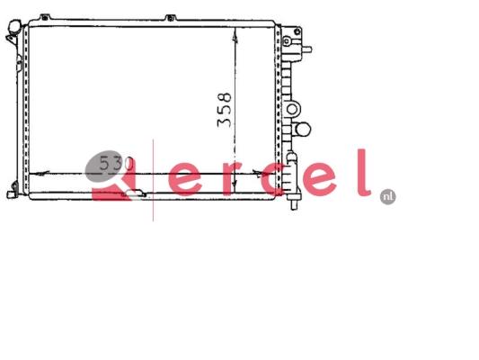 Radiateur OPR 180