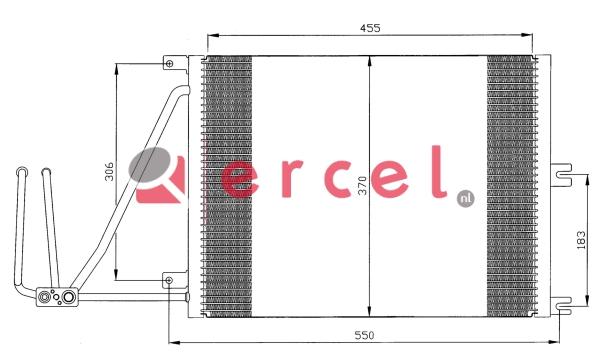 Airco condensor OPC 544