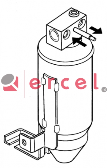 Airco droger/filter PED 005