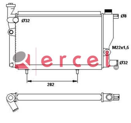 Radiateur PER 058