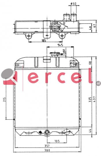 Radiateur PER 020