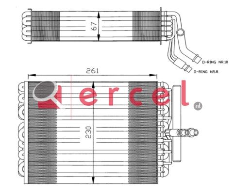 Airco verdamper PEV 002