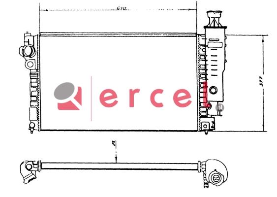 Radiateur PER 076