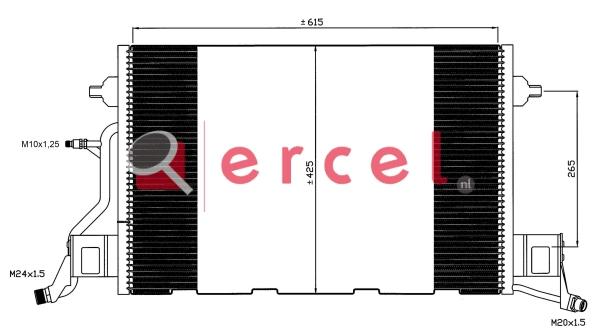 Airco condensor AUC 570