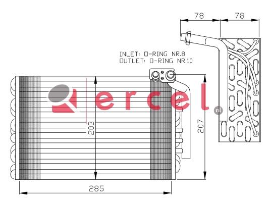Airco verdamper PEV 012