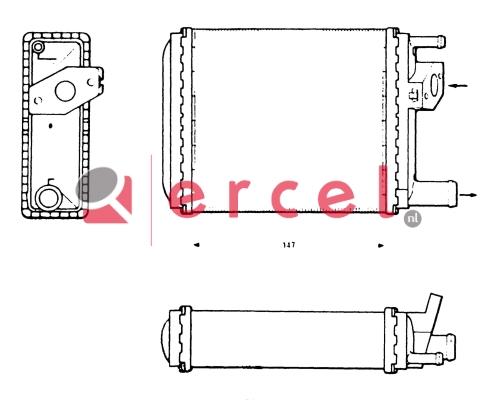 Kachelradiateur REH 206