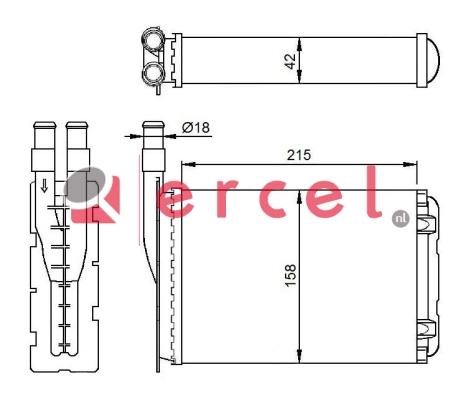 Kachelradiateur REH 208