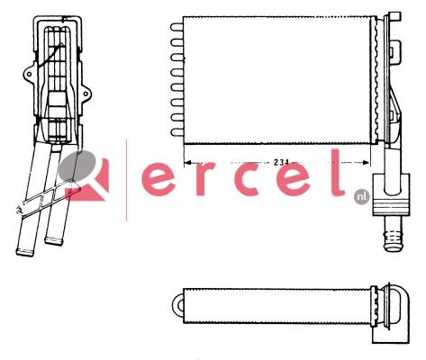 Kachelradiateur REH 202