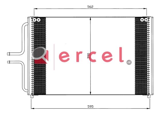 Airco condensor REC 578
