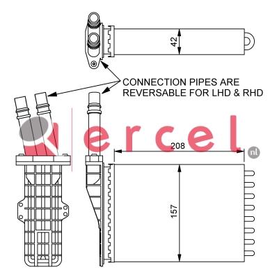 Kachelradiateur REH 258