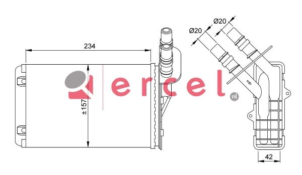 Kachelradiateur REH 252
