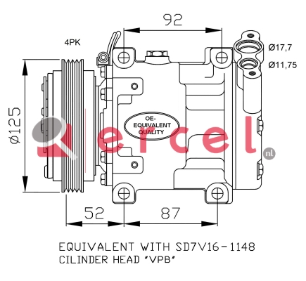 Airco compressor REK 006