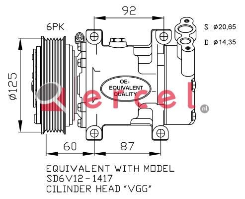 Airco compressor REK 008