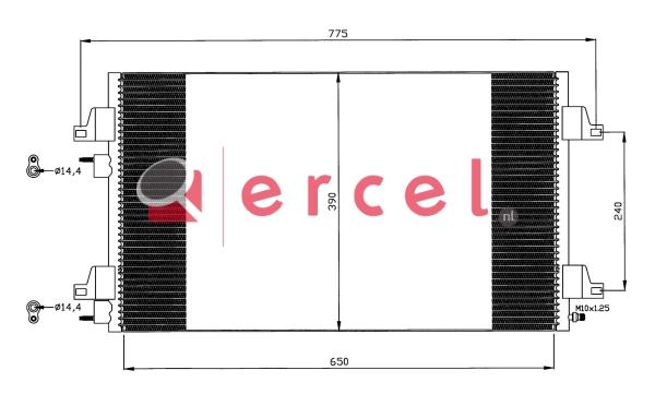 Airco condensor REC 513
