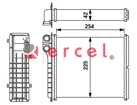 Kachelradiateur REH 244