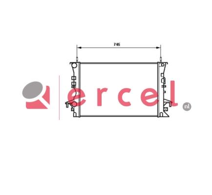 Radiateur RER 161