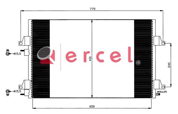 Airco condensor REC 531