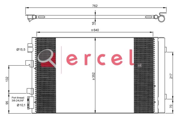 Airco condensor REC 575