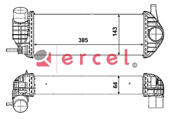 Interkoeler REI 481