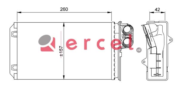 Kachelradiateur REH 220