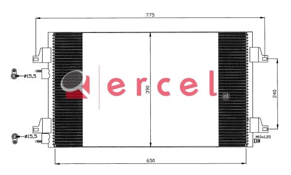 Airco condensor REC 529