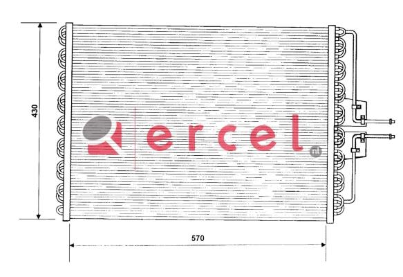 Airco condensor REC 522