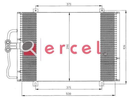 Airco condensor REC 534
