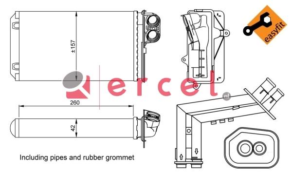 Kachelradiateur REH 250