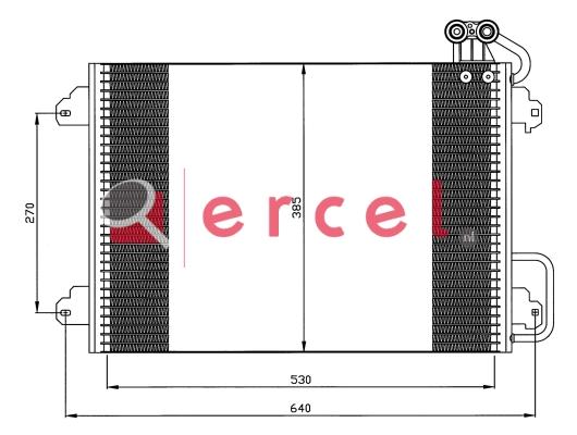 Airco condensor REC 599