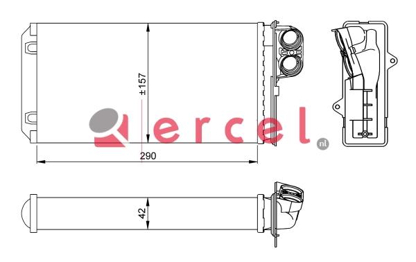 Kachelradiateur REH 210