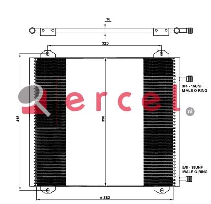 Airco condensor REC 596