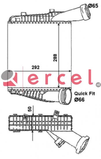 Interkoeler POI 416