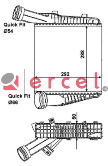 Interkoeler VWI 464