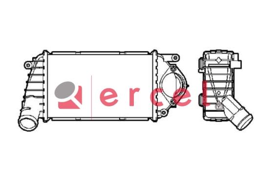 Interkoeler SEI 408