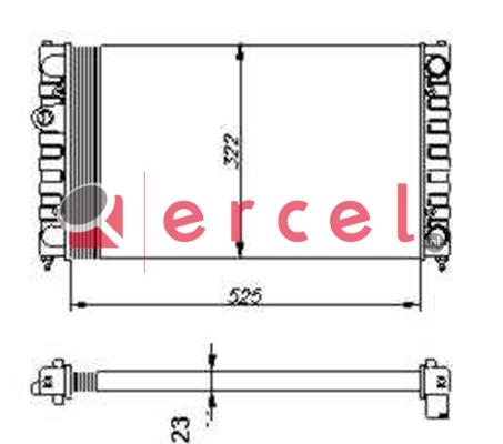 Radiateur SER 022
