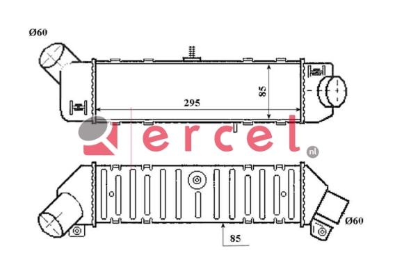 Interkoeler SEI 404