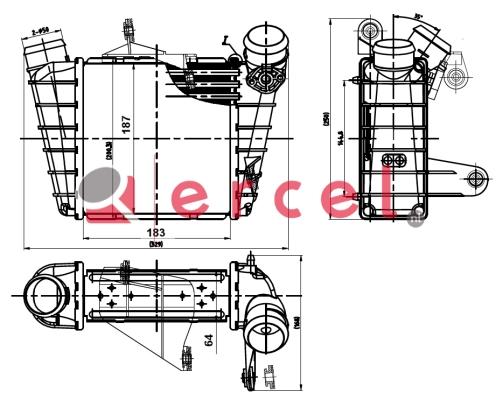 Interkoeler VWI 448
