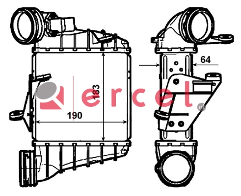 Interkoeler SEI 412